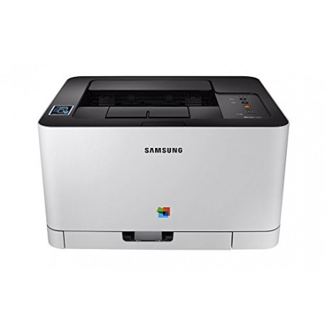 Samsung SL-C430 Colour Laser Printer - White