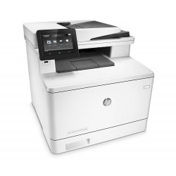 HP MFP M477fdw LaserJet Pro Colour Printer - White
