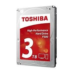 Toshiba P300 High Performance 3TB Internal Hard Drive (Bulk) 3.5 Inch SATA - HDWD130UZSVA