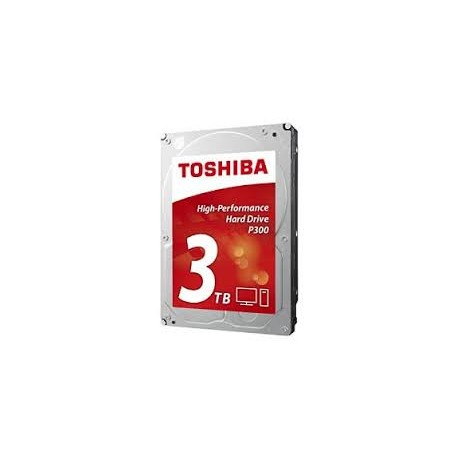 Toshiba P300 High Performance 3TB Internal Hard Drive (Bulk) 3.5 Inch SATA - HDWD130UZSVA