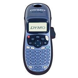 Dymo S0883980 LetraTag LT-100H Label Maker ABC Keyboard - Black/Blue