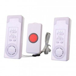 EgoEra® Home Safety Alert Wireless Elderly Patient Alert Alarm System Kit