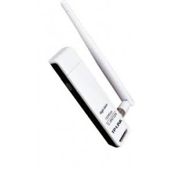 TP-LINK TL-WN722N 150 Mbps High Gain Wireless USB Adapter - White
