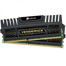 Corsair Vengeance 8 GB (2 x 4 GB) Performance Desktop Memory Kit - Black