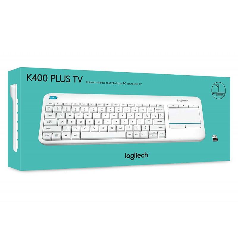 Logitech K400 Plus Wireless Touch Keyboard for Windows