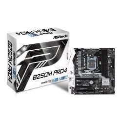 ASROCK B250M PRO4 S1151 mATX Intel B250 DDR4 Elegant Motherboard - Black