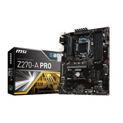 MSI 911-7A71-001 MSI Z270 A PRO Kaby Lake CrossFire ATX Motherboard - Black