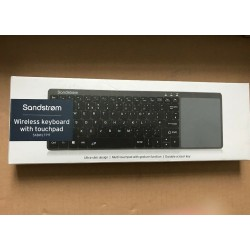 Sandstrom Wireless keyboard with touchpad