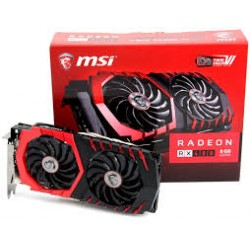 MSI RX 480 GAMING X 8G Graphics Card - Black (AMD Radeon 8 GB