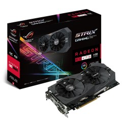 ASUS AMD Strix RX470 Memory Gaming Graphics Card - Black