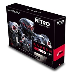 Sapphire AMD RX460 Nitro+ 4 GB GDDR5 Memory Polaris FinFET DX 12 Vulkan FreeSync PCI Express Graphics Card