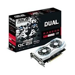 ASUS Radeon RX460 DUAL OC 2 GB AMD Graphics Card - Black