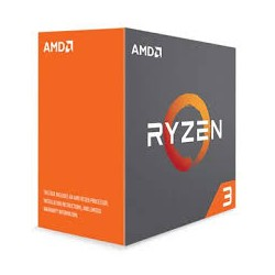 AMD YD1200BBAEBOX Ryzen 3 1200 CPU with Wraith Stealth Cooler - Silver