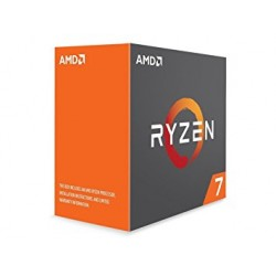 AMD Ryzen 7 1700 65 W 8/16 Core 3.7 GHz 4 MB CPU - Black