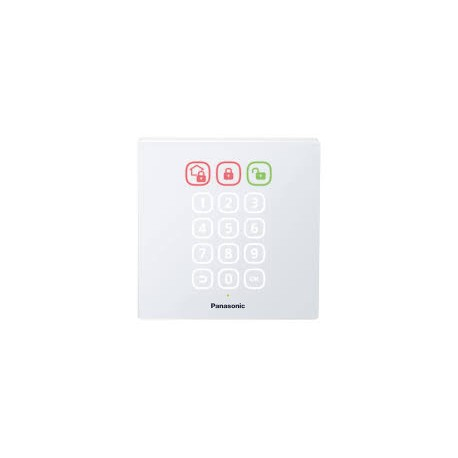 Panasonic Smart Home KX-HNK101EW Access Keypad - White