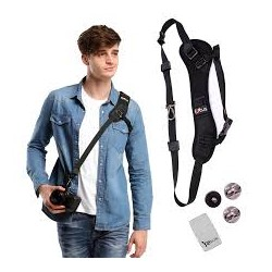 GOMAN Camera Shoulder Neck Strap, Quick Release Rapid Professional One Shoulder Camera Belt Sling Strap - Black