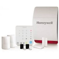 Honeywell HS331S Wireless Home Alarm With Intelligent Control - White