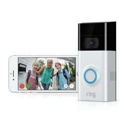 Ring RVD2 Video Doorbell 2, Satin Nickel