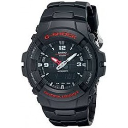 G-Shock Men's G-100-1BVMUR Quartz Watch with Black Dial Analogue