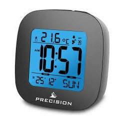 Precision Smart Looking Gadget Radio Controlled LCD Alarm Clock